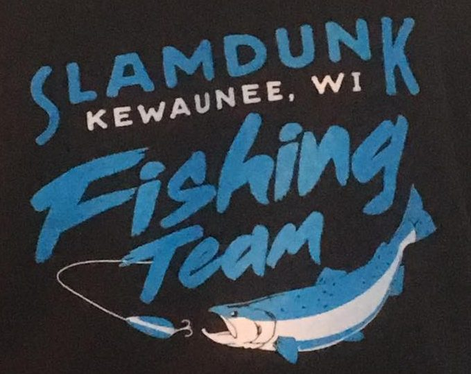 Slam Dunk Sport Fishing Kewaunee Fishing Charters on Lake Michigan