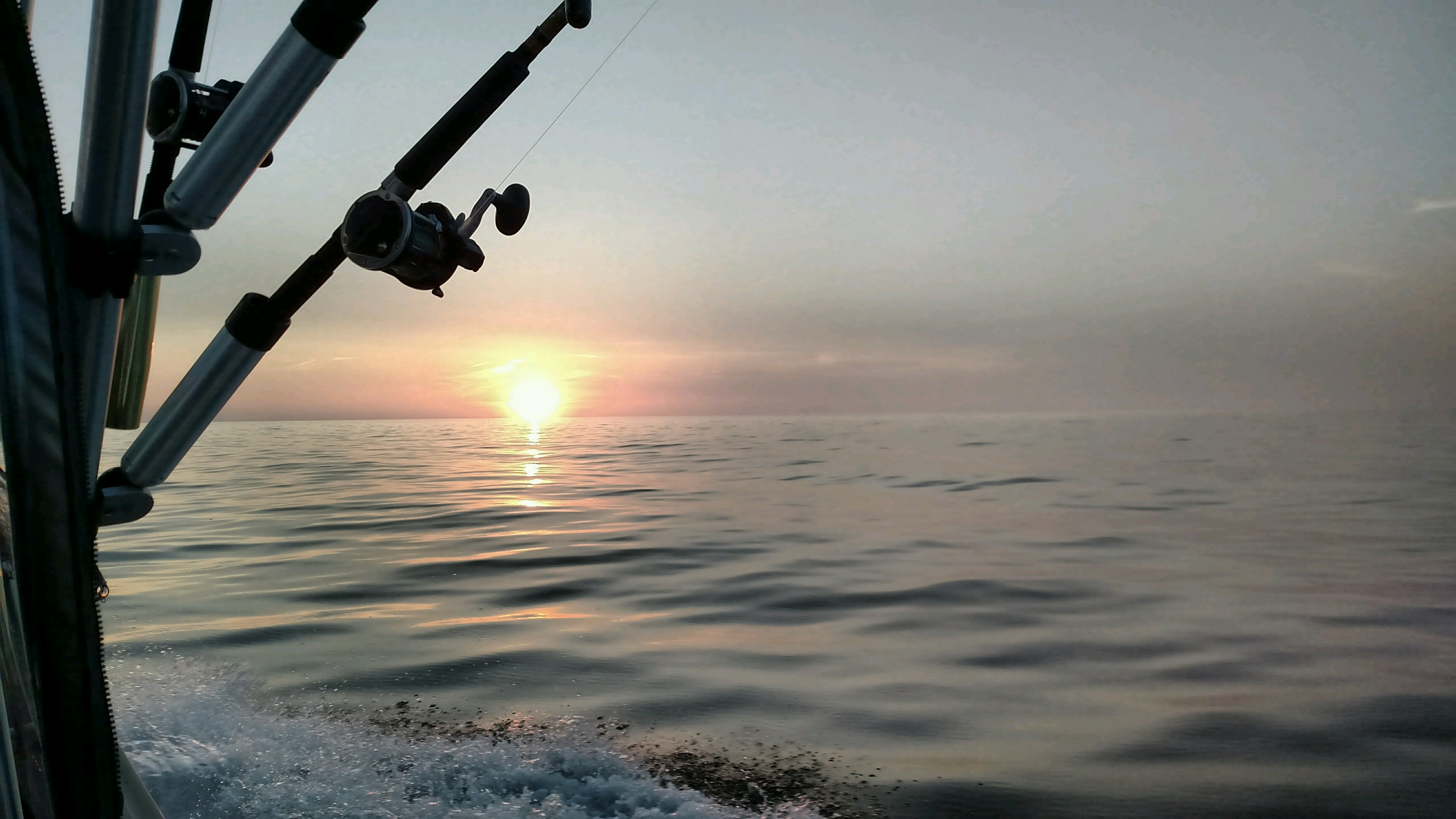 Lake Michigan Salmon Fishing Charters, Slam Dunk Sport Fishing Charters LLC, Kewaunee Wisconsin